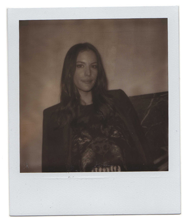 Polaroid picture of Liv Tyler by Antonio Barros